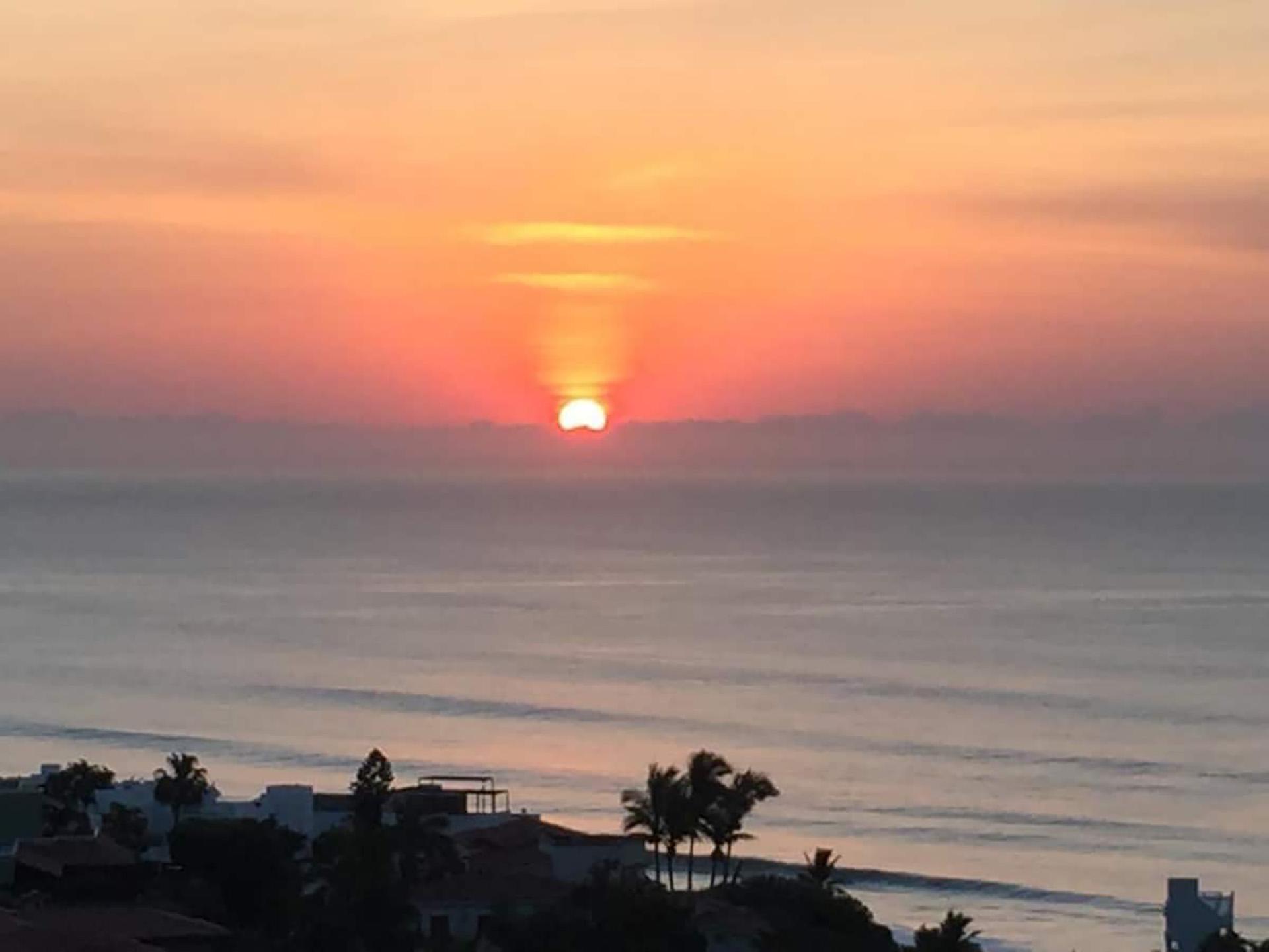 enjoy the beautiful view of the horizon